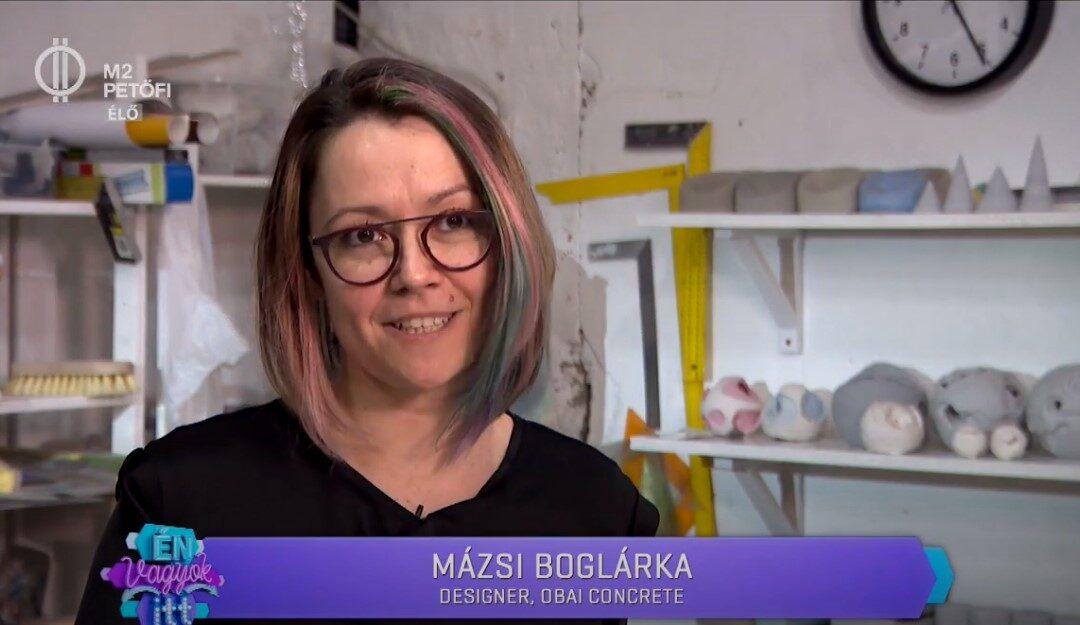 Betonműhely titkaink az M2 Petőfi TV-n